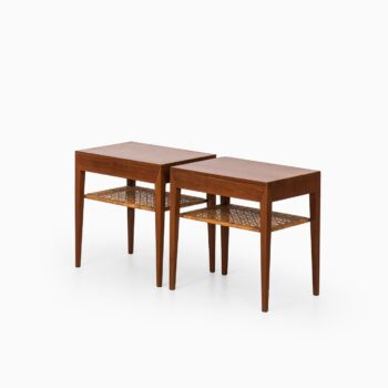 Severin Hansen bedside tables in teak at Studio Schalling