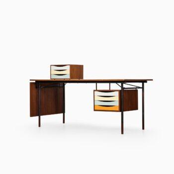 Finn Juhl desk model BO-69 in teak at Studio Schalling