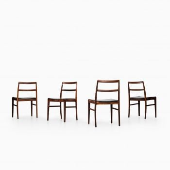Arne Vodder dining chairs model 430 at Studio Schalling