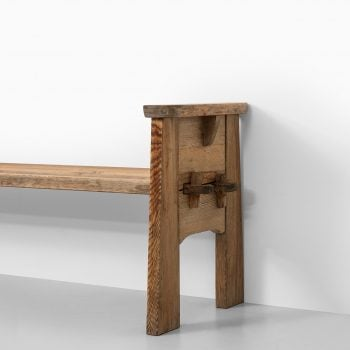 David Rosén bench model Berga at Studio Schalling