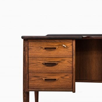 Göran Strand desk in rosewood by Lelångs at Studio Schalling