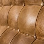 Arne Norell Merkur sofa in cognac brown leather at Studio Schalling