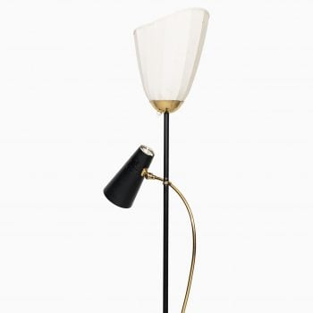 Pair of floor lamps produced in Sweden at Studio Schalling