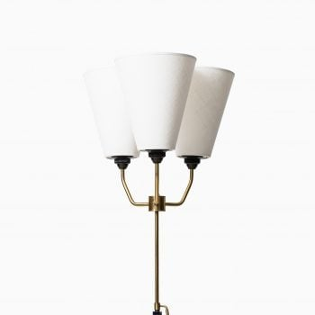 Height adjustable uplight / floor lamp at Studio Schalling