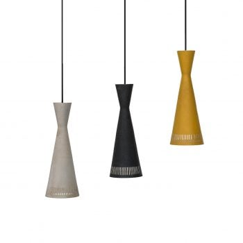 Set of 3 colorful ceiling lamps at Studio Schalling