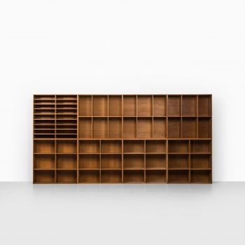 Mogens Koch bookcases in oak at Studio Schalling