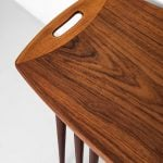 Jens Quistgaard nesting tables in teak at Studio Schalling