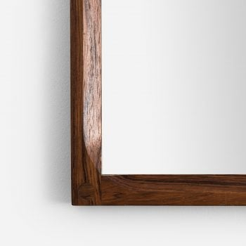 Aksel Kjersgaard mirror in rosewood by Odder at Studio Schalling