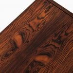 A pair of bedside tables in rosewood at Studio Schalling