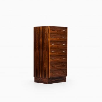 Torbjørn Afdal high bureau in rosewood at Studio Schalling