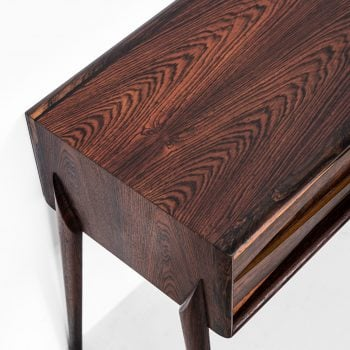 Rimbert Sandholt side table in rosewood at Studio Schalling