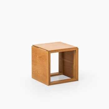 Kai Kristiansen nesting tables model 33 in oak at Studio Schalling