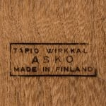 Tapio Wirkkala coffee table in rosewood at Studio Schalling
