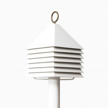 Hans-Agne Jakobsson table lamp in white metal at Studio Schalling
