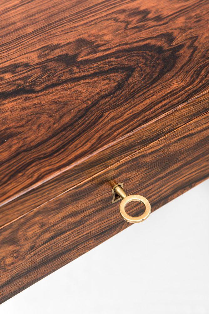 Severin Hansen desk in rosewood by Haslev at Studio Schalling