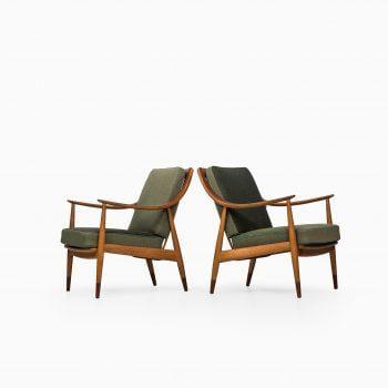 Peter Hvidt & Orla Mølgaard-Nielsen FD-144 easy chairs at Studio Schalling