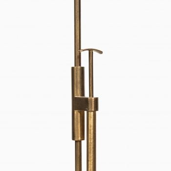Floor lamp in brass by Falkenbergs belysning at Studio Schalling