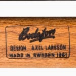 Axel Larsson armchairs model 1522 at Studio Schalling