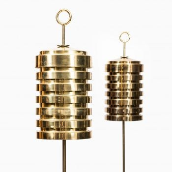 Hans-Agne Jakobsson floor lamps model G-20 at Studio Schalling