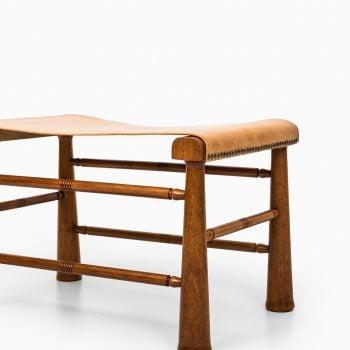 Josef Frank stool model 972 in mahogany at Studio Schalling