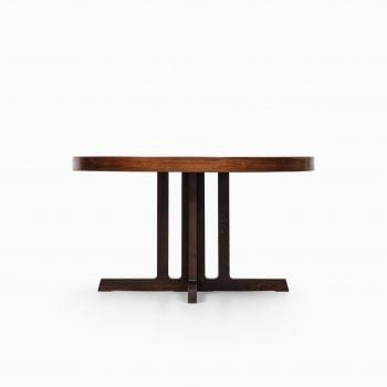 Johannes Andersen dining table in rosewood at Studio Schalling