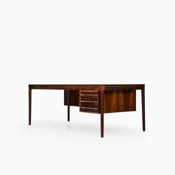 Torbjørn Afdal large desk in rosewood at Studio Schalling
