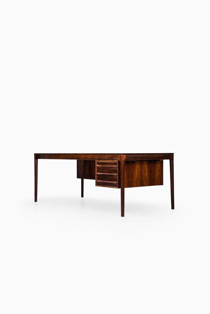 Torbjørn Afdal large desk in rosewood at Studio Schalling