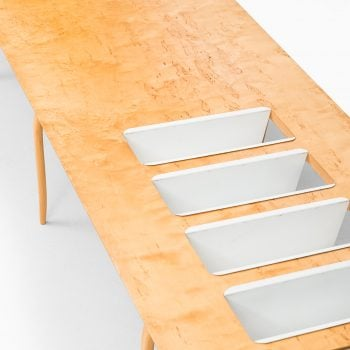 Bruno Mathsson magazine / side table at Studio Schalling