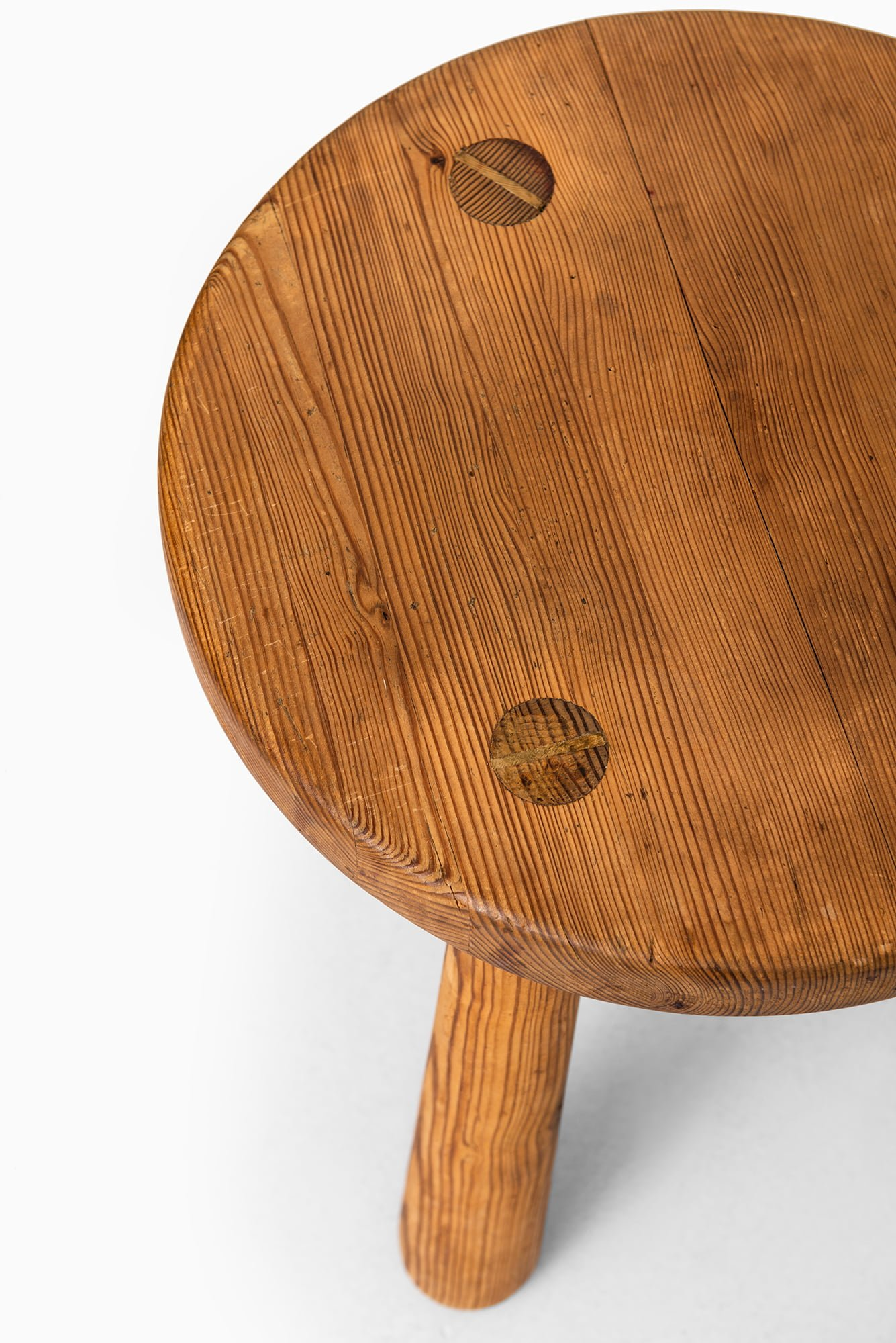 Axel Einar Hjorth Stool Model Ut 246 In Pine At Studio Schalling