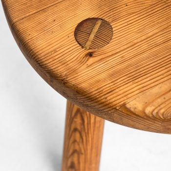 Axel Einar Hjorth stool model Utö in pine at Studio Schalling