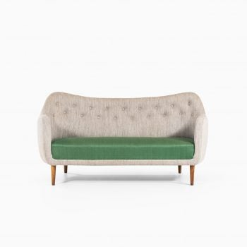 Finn Juhl sofa model BO64 by Bovirke at Studio Schalling