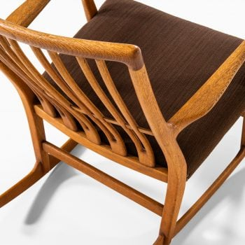 Hans Wegner rocking chair model ML-33 at Studio Schalling