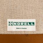 Arne Norell easy chair model Löven in walnut at Studio Schalling