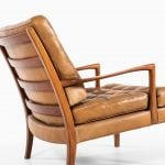 Arne Norell Löven easy chair in walnut at Studio Schalling