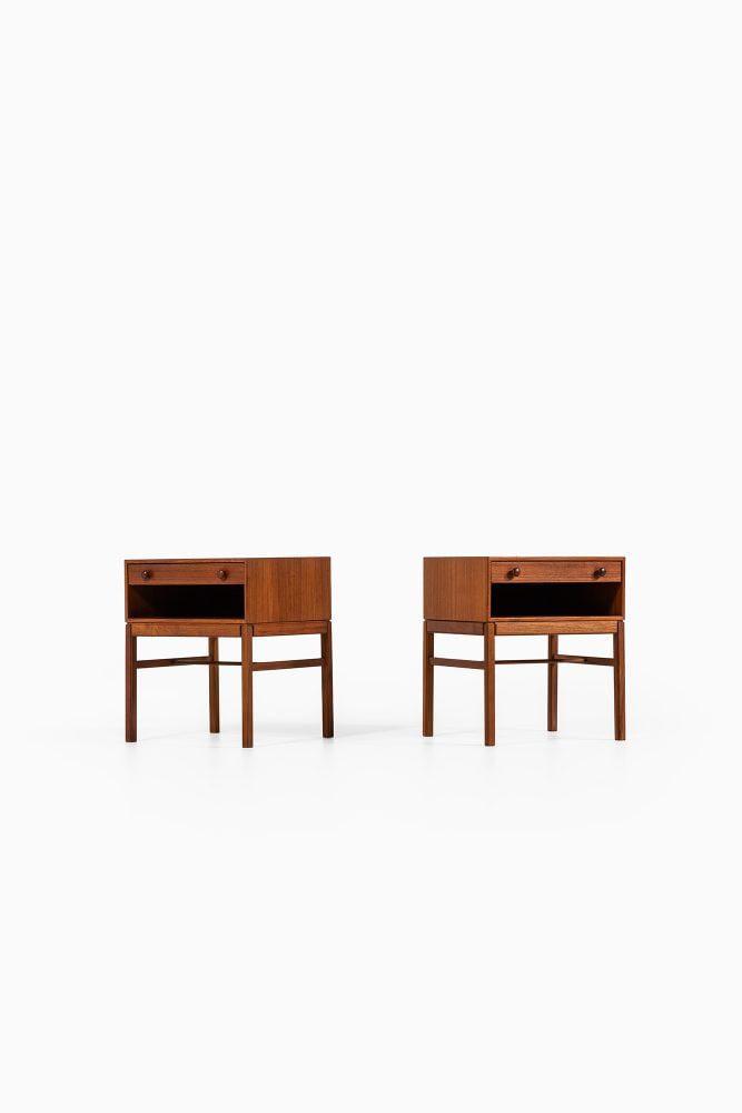 Sven Engström & Gunnar Myrstrand bedside tables model Casino at Studio Schalling