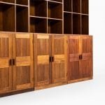 Large bookcase in teak at Studio Schalling