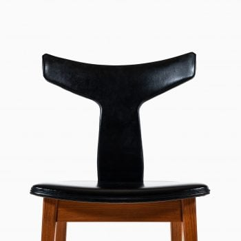 Helge Sibast dining chairs in teak by Sibast at Studio Schalling