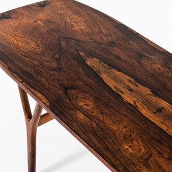 Coffee table in rosewood at Studio Schalling