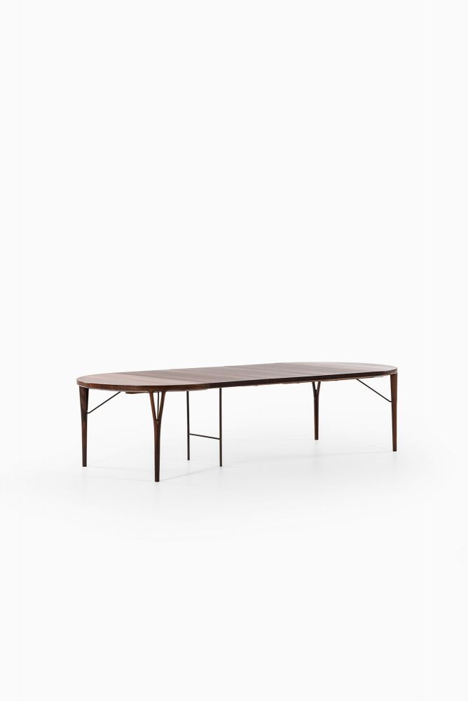 Helge Vestergaard Jensen dining table at Studio Schalling