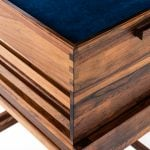 Gunnar Myrstrand side table in rosewood at Studio Schalling