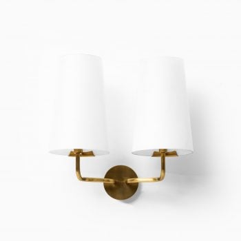 Fog & Mørup wall lamp in brass and glass at Studio Schalling