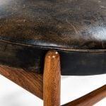 Ib Kofod-Larsen Elizabeth easy chair with stool at Studio Schalling