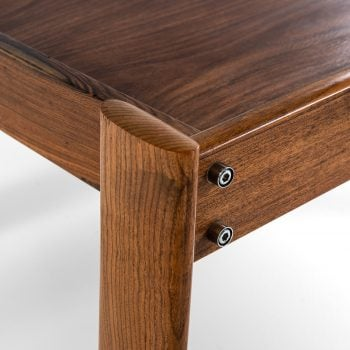 Percival Lafer side tables in rosewood at Studio Schalling