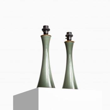Berndt Nordstedt table lamps by Bergbom at Studio Schalling