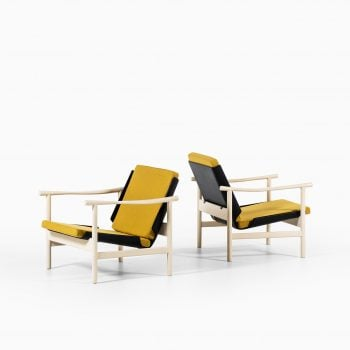 Pair of easy chairs by unknown designer at Studio Schalling