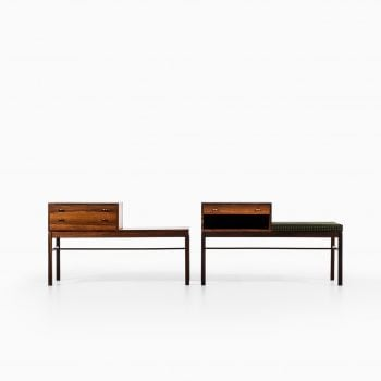 Sven Engström & Gunnar Myrstrand side tables at Studio Schalling
