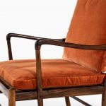 Ole Wanscher Colonial armchairs in rosewood at Studio Schalling