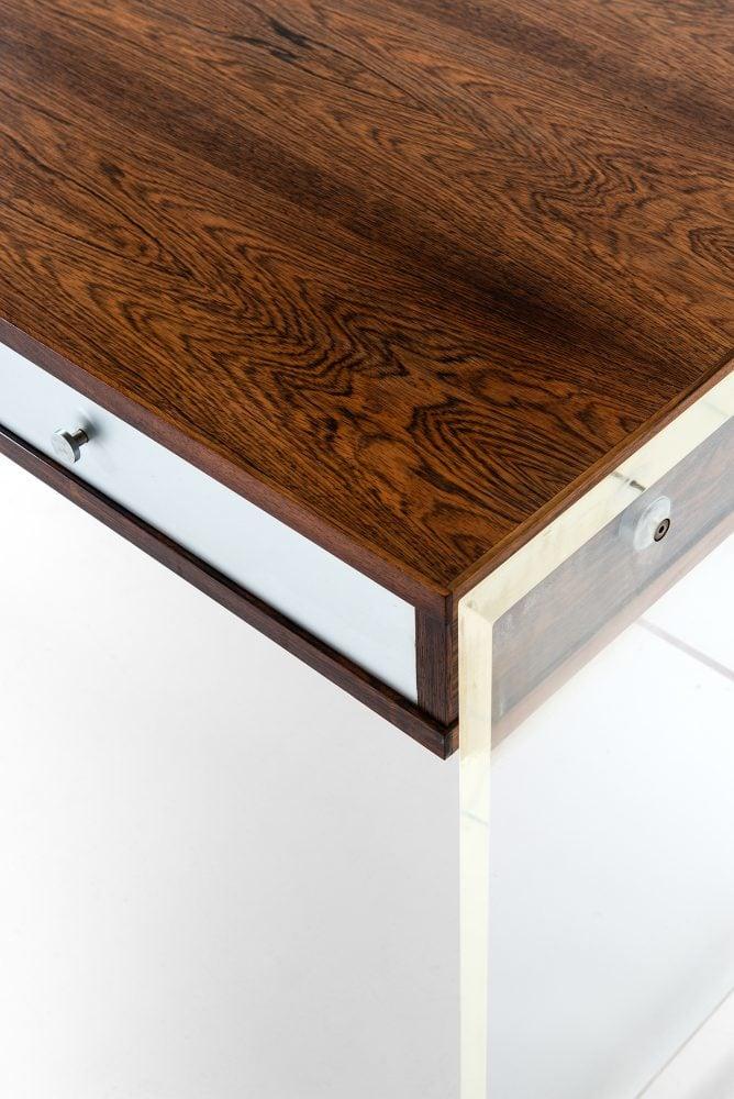 Poul Nørreklit desk model GP 160 in rosewood at Studio Schalling