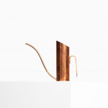Gunnar Ander water pitcher in copper at Studio Schalling