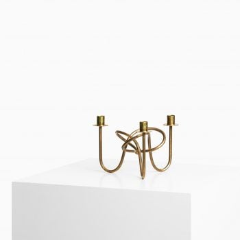 Josef Frank candlestick in brass at Studio Schalling